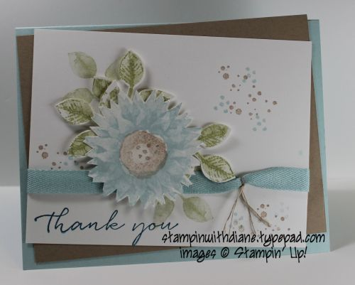 Painted Harvest-  showing the versatility of this Stamp Set Come like my Facebook Page https://www.facebook.com/Stampin-with-Diane-249204018555071/
