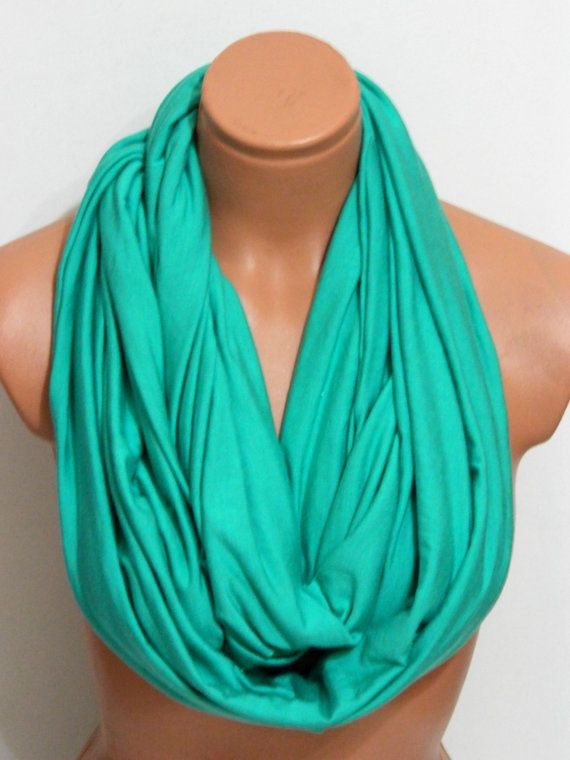 Neon Infinity Scarves, Nomad scarf,textile neon mint Scarf,Loop Scarf,Circle Scarf,Cowl Scarf,Nomad Cowl....
