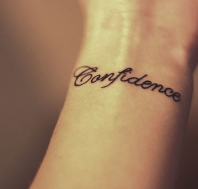 My First Tattoo Represents My Time Getting Through: 1000+ Ideas About Confidence Tattoo On Pinterest