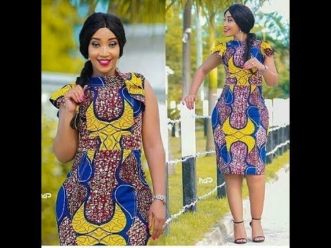 Latest Ankara Styles for Ladies 2018 ; Nice Collection for You to Select...