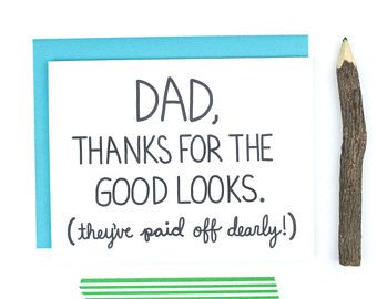 Items Similar To Funny Cheeky Dad Birthday Card Fathers Day On Etsy