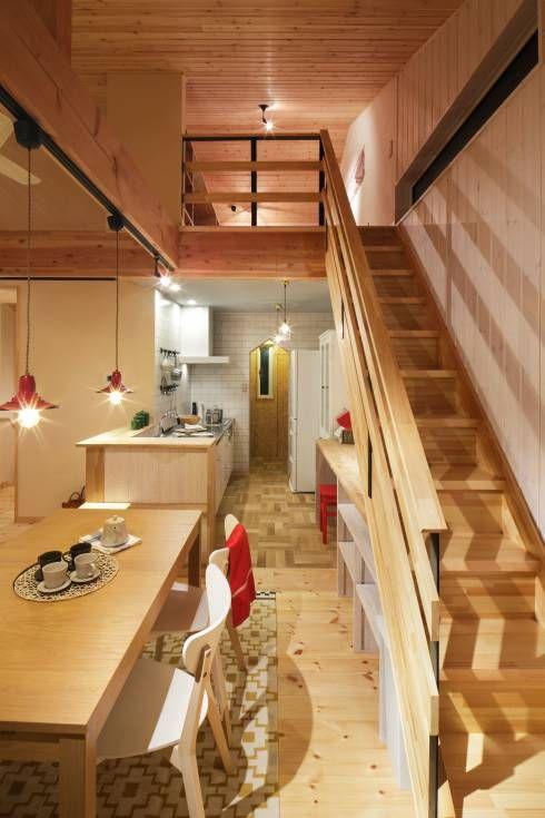 Rumah Mungil Untuk Keluarga Bak Drama Korea