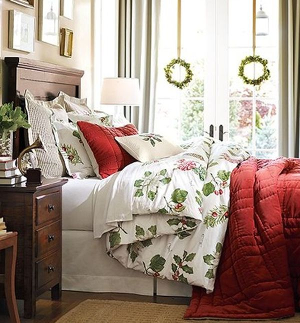 1000+ Ideas About Christmas Bedroom Decorations On