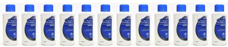 Head and Shoulders Men Full & Thick 2-in-1 Dandruff Shampoo + Conditioner 1.7 Fl Oz (Pack of 12)