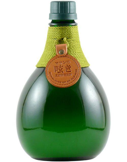 Shochu. Love the bottle neck detail.