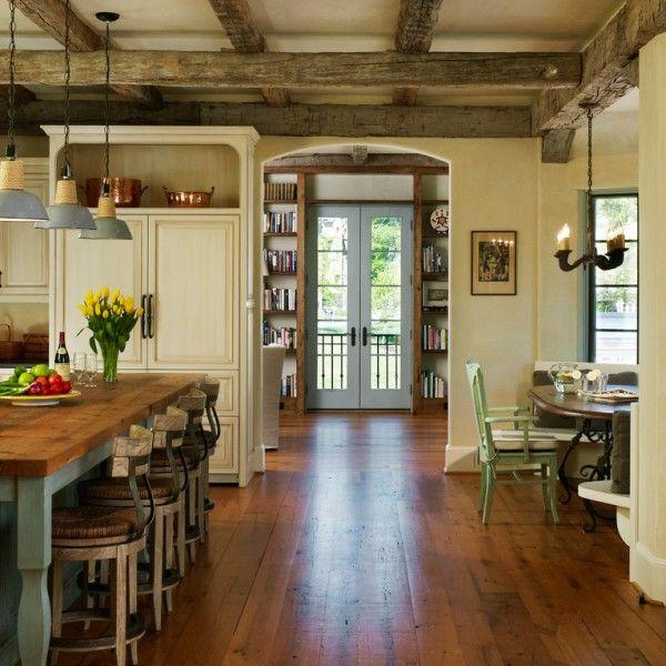 Land-französischen Cottage-Küche