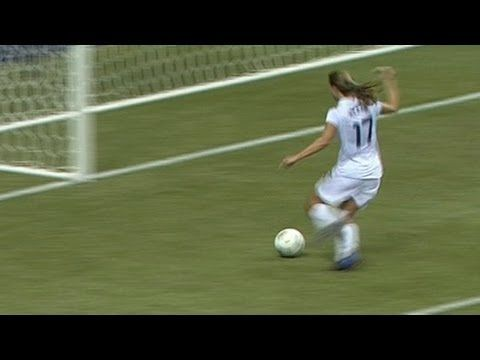 Top 5 USA goals in Women's Soccer - from Universal Sports   against dominican republic in the olympic trials  2012