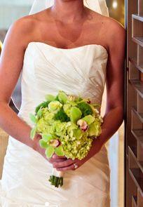 Enchanted Florist Las Vegas, all green bouquet #greenery #pantone #bouquet