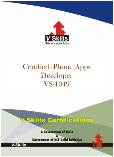 Certified iPhone Apps Developer.  Vskills certification for iPhone Apps Developer assesses the candidate for developing applications for iPhone smartphones. The certification tests the candidates on various areas in developing applications for iPhone smart phone which includes knowledge of iPhone framework, screen layout, UI design, packaging and publishing. Read More at http://www.vskills.in/certification/Certified-iPhone-Apps-Developer