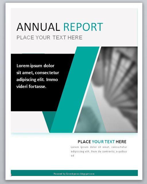 Download Contoh Cover Laporan Desain Sampul Report