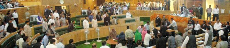 Entire opposition including National Conference (NC) Congress and lone member of Communist Party of India (M) today staged a walk-out from the Jammu and Kashmir Legislative Assembly (LA) after the speaker refused to suspend Question Hour
