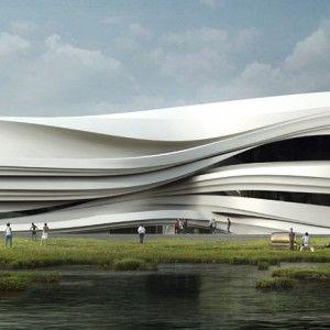 Yinchuan Art Museum by WAA via Dezeen