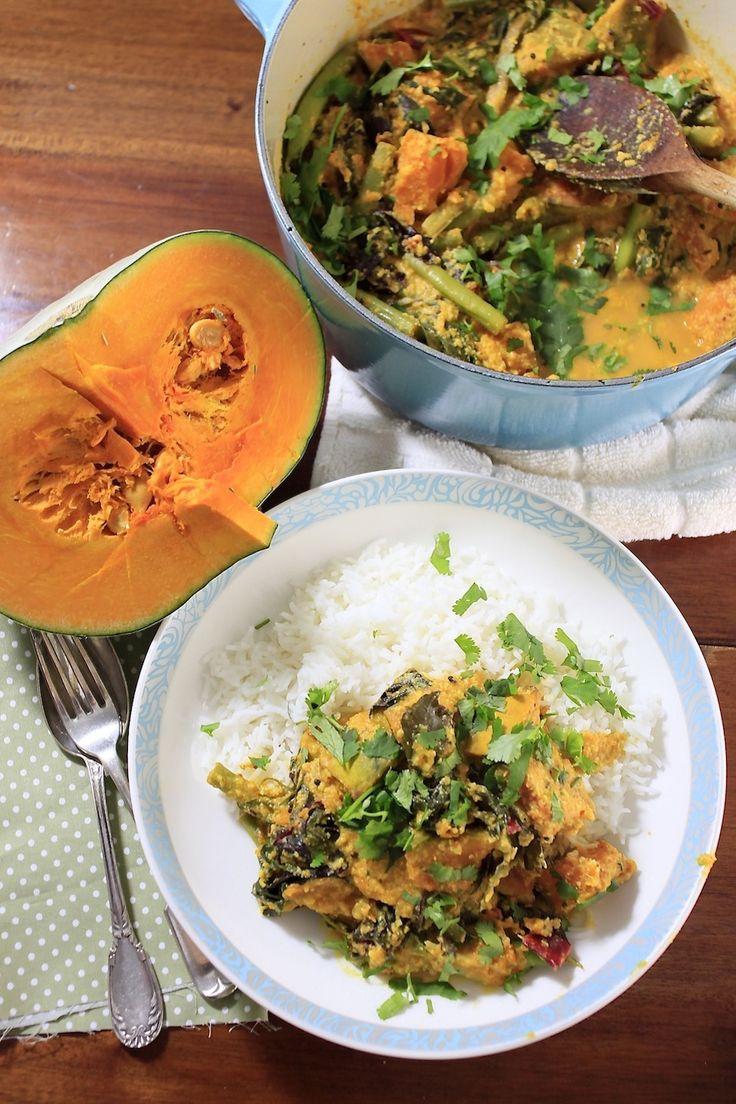 South Indian Pumpkin Curry