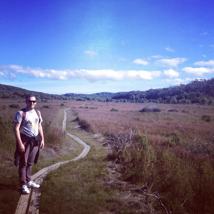 Walk to South Cape Bay, Tasmania