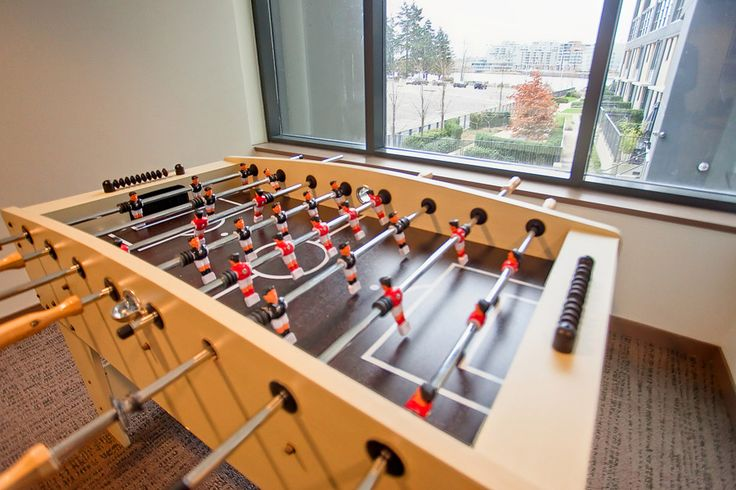 9 Smithe Mews Amenities - Foosball
