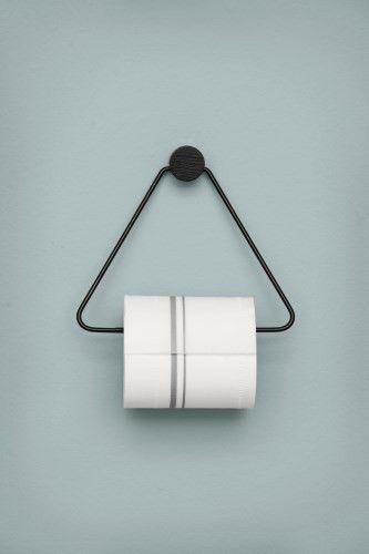 Black Toilet Paper Holder design by Ferm Living