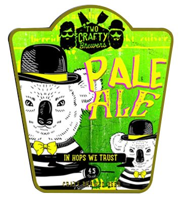 Two Crafty Brewers Pale Ale