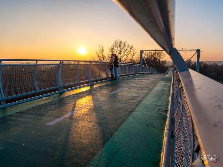 Západ slnka z mosta