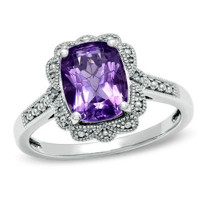Have a new Amethyst ring, and I'm trying to decide if I need to keep shopping....like the setting.