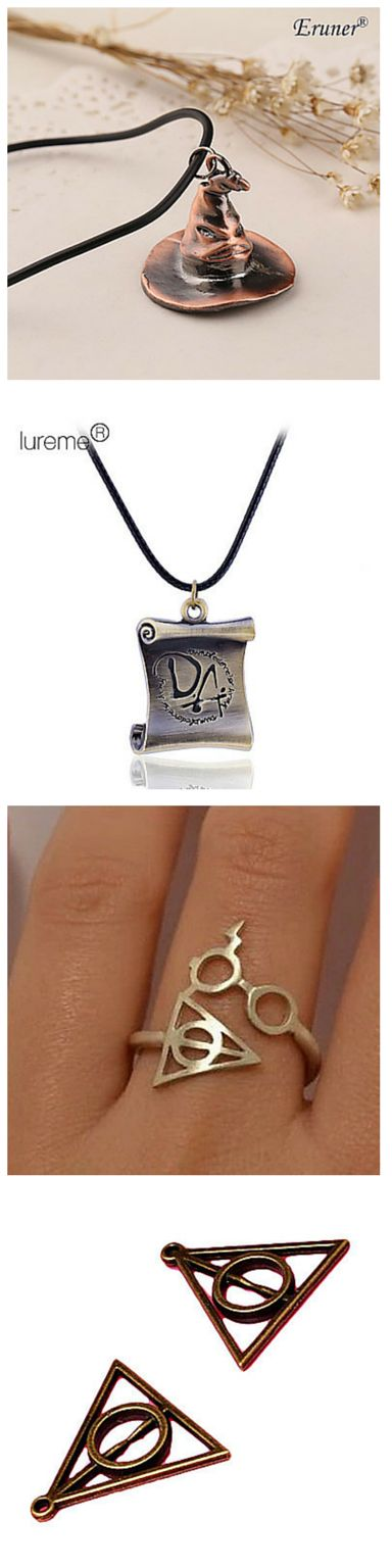 Calling all Harry Potter Fans! Get your Sorting Hats, DA scroll, and even the Deathly Hallows! Just click the image for even more wearable Potter goods!