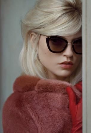 milky blonde and miu miu
