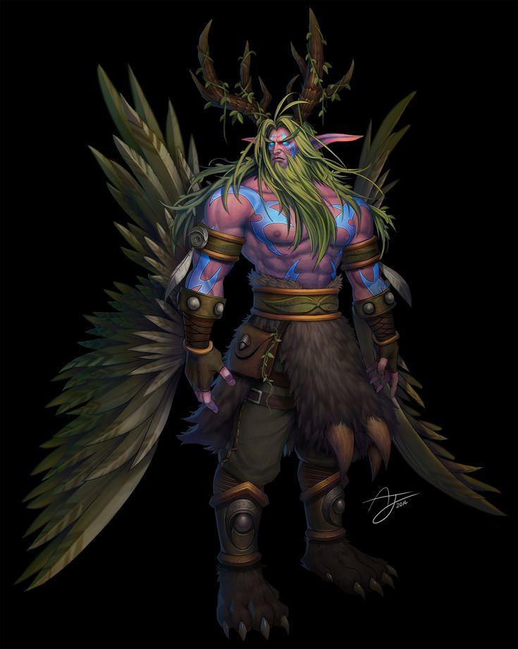 #warcraft #elfe #elf #malfurion #hurlorage #stormrage
