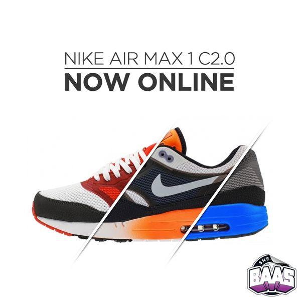 Nike Air Max 1 C2.0 now online!  www.sneakerbaas.nl