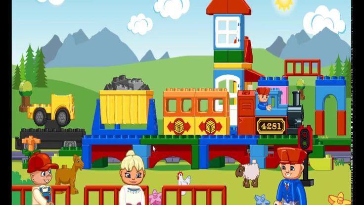 Lego Duplo Trains | Cartoon about train | Trains for Children