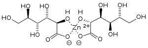 Zinc gluconate structure.svg