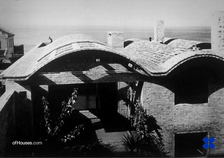 Eladio Dieste.Casa Dieste.Montevideo, Uruguay.1963