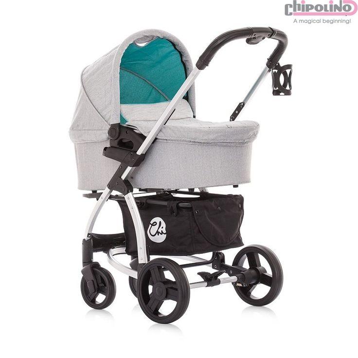 Chipolino Avenue Turquoise Bebek Arabası