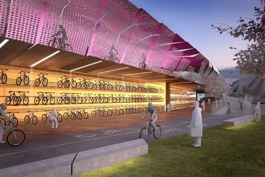 Consortium pushes for elevated bike path in Melbourne: http://cycletraveller.com.au/australia/news/consortium-pushes-for-elevated-bike-path-above-melbourne-cbd #cycling #bikepath