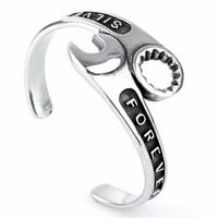 Bicycle Key Wrench Stainless Steel Bracelet Silver Bracelets Bracelet Men's Bracelet Wrap Bracelet Male