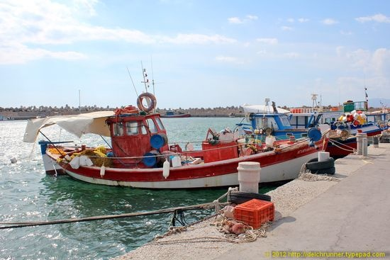 Ierapetra's port