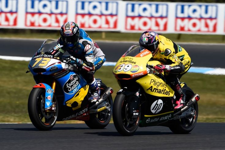 Alex Marquez, Australian Moto2 Race 2015