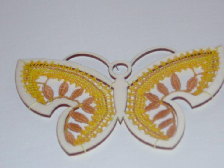 Žlutý motýl