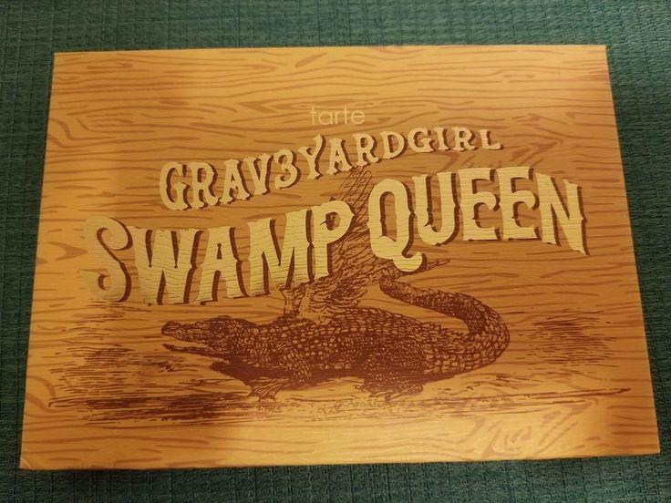 Graveyard Girl Swamp Queen EyeShadow & Cheek Palette Tarte  | eBay