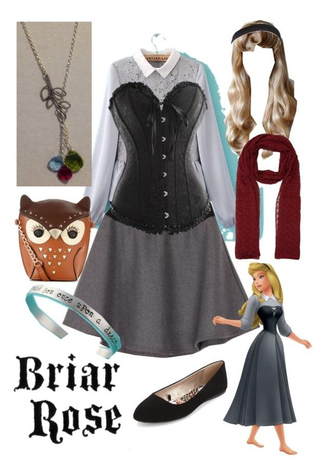 Briar Rose- Sleeping Beauty by bijouxetsoirees on Polyvore featuring JVL,  Ho Shop, Charlotte