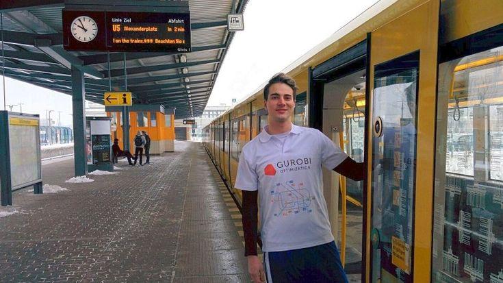 Wie ein Münchner den Berliner U-Bahn-Rekord knacken will