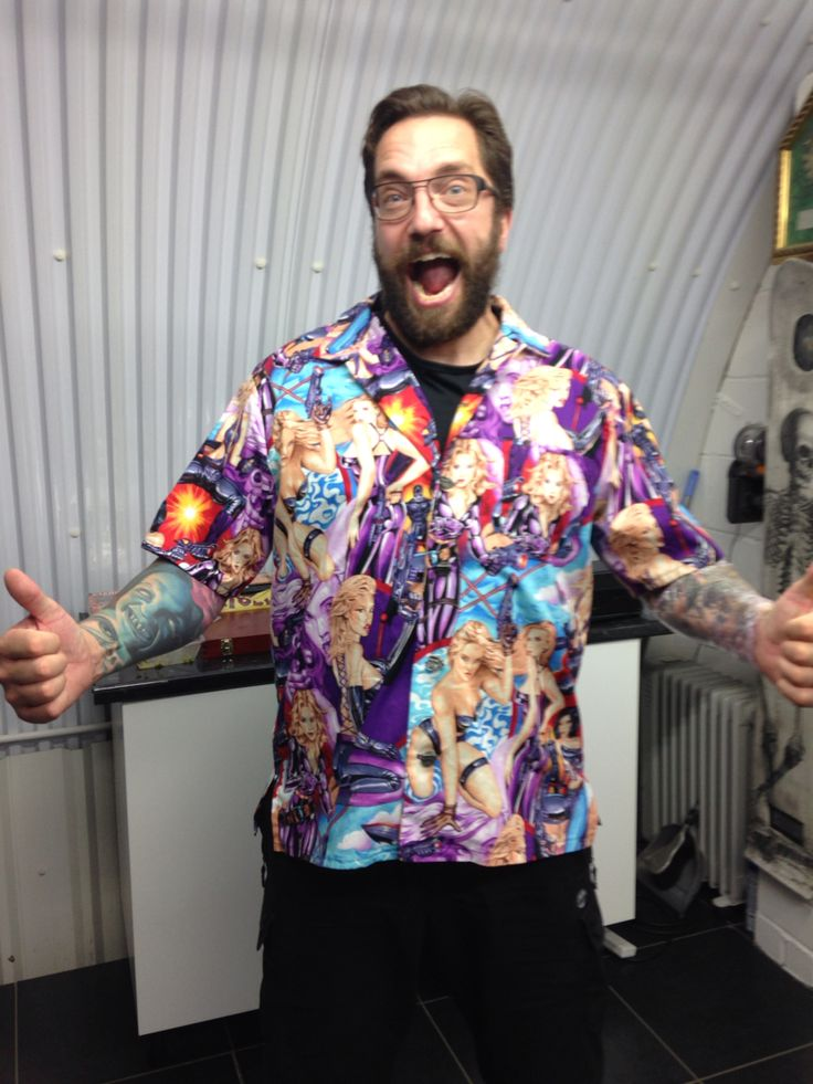 Where it started! My friend Dr. Matt Taylor wearing the first shirtstorm bowling shirt I ever made! Little did he know he'd wear it to announce the comet landing on November 2014 causing a global stir. www.ellyprizeman.com