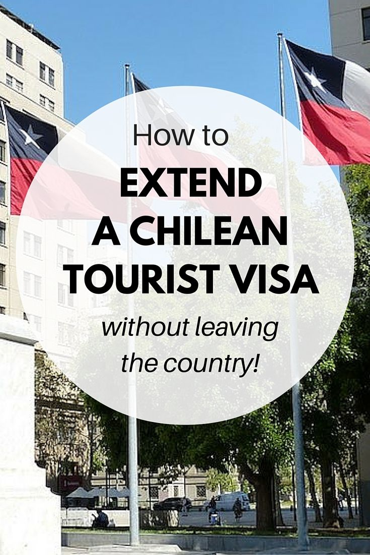 Think you have to do another one of those visa runs to get your visa in Chile extended? *think again*   We show you step by step how to get your Chilean tourist visa extended - in the country. Wahoo!