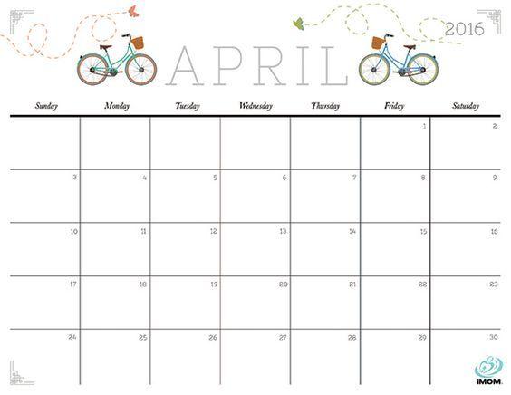 Blank Calendar, Kalender