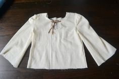 Kids' Rennaisance tunic pattern, easy, did it in one evening.