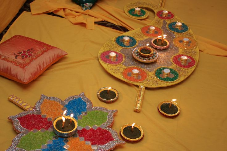 Mehndi Thaal Decoration Facebook : Best images about mehndi on pinterest plates wedding