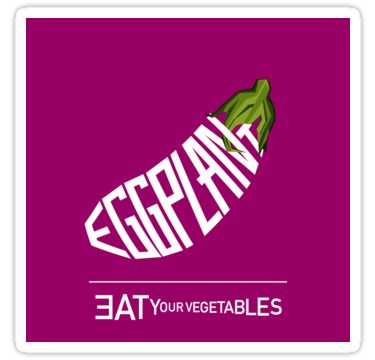 Definition of eggplant. / 1a : a widely cultivated perennial Asian herb (Solanum melongena) of the nightshade family yielding edible fruitb : the usually smooth ovoid typically blackish-purple or white fruit of the eggplant. / 2: a dark grayish or blackish purple • Also buy this artwork on stickers and apparel.