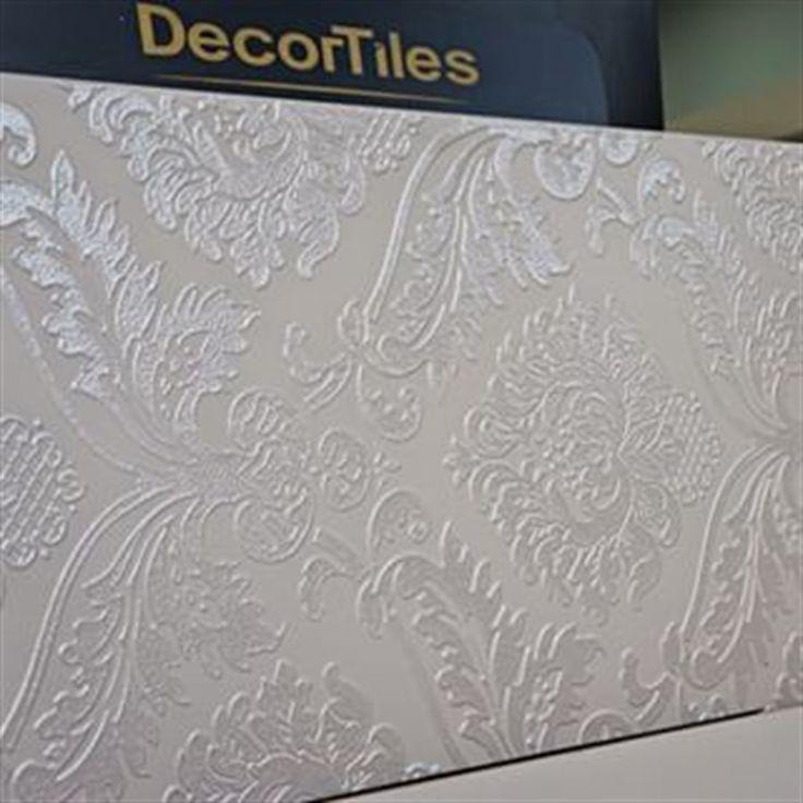 Pastilhart - TOUCH DECOR BRANCO 45X90 CM | Decortiles | Pastilhart Revestimentos