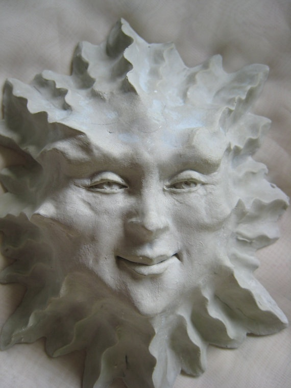 Handmade Celestial Sun Garden Wall Art Ceramic by SmillieCeramics, $24.00