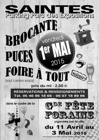 3ème BROCANTE – PUCES Et FOIRE à TOUT   ICI Magazine - Charente Maritime
