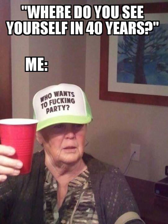 We ain't drunk we drinking..