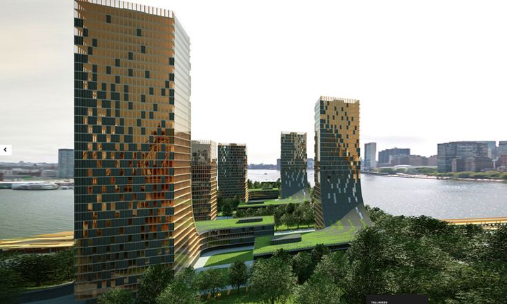 Wooden skyscrapers could be the future of flat-pack cities around the world  - Tallwood - proposed wooden 'plyscrapers' in Vancouver.
